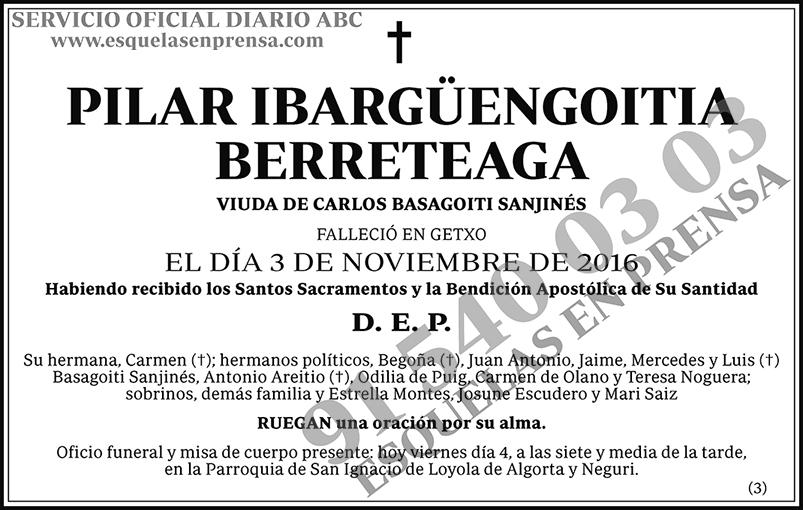 Pilar Ibargüengoitia Berreteaga